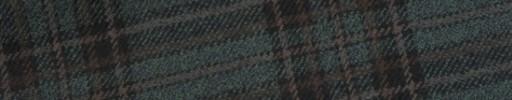 【W.b_9w20】ダークグリーン+7.5×7cmブラック・ブラウンチェック