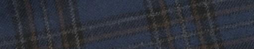 【W.b_9w23】ダークブルーグレー+7.5×6.5cmブラック・ダスティーレッド・グレーチェック