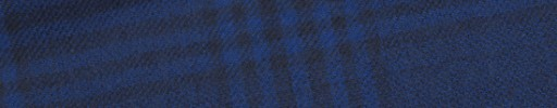 【W.b_9w25】ネイビー+8.5×7.5cmブラックチェック