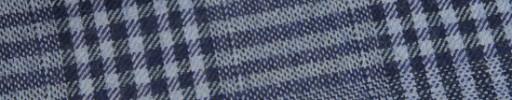 【W.b_9w26】ライトブルー+8.5×7.5cmネイビーチェック