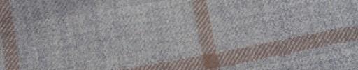 【W.b_9w29】ライトグレー+8×7cmブラウンペーン