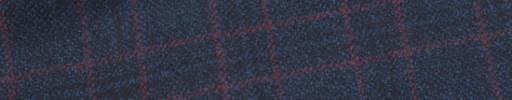 【W.b_9w31】ネイビー+3.8×3.3cm赤・黒チェック