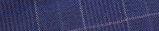 【W.b_9w38】パープル+4.5×3.5cmピンク・ホワイト・織りプレイド
