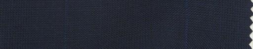 【Bc_m07】ネイビーグレンチェック+6×5cmブルーペーン