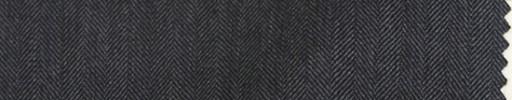 【Bc_m12】チャコールグレー1cm巾ヘリンボーン