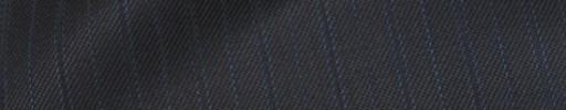 【Bhr_9w21】チャコールグレー+1.3cm巾水色・織り交互ストライプ