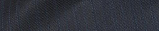 【Bhr_9w22】ブルーグレー+1.3cm巾水色・織り交互ストライプ