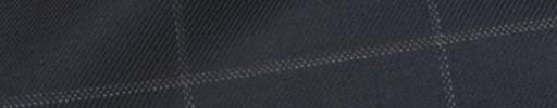 【Bhr_9w24】ネイビー+7.5×5cm白ウィンドウペーン