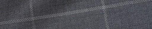 【Bhr_9w25】ミディアムグレー+7.5×5cm白ウィンドウペーン