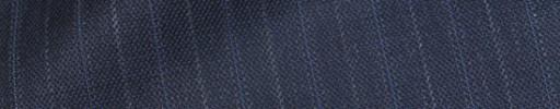 【Bhr_9w54】シルバーブルーグレー+1.4cm巾ブルー・グレー織り交互ストライプ