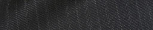 【Bhr_9w55】チャコールグレー+1.4cm巾グレー織り交互ストライプ