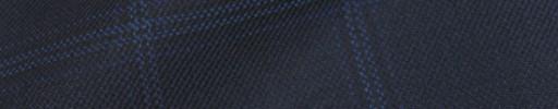 【Bsl_9w013】ネイビー+4.5×3.5cmブルーチェック