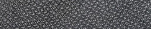 【Bsl_9w041】シルバーグレー・ブラックファンシードット