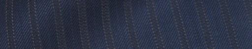 【Bsl_9w097】ライトネイビー柄+9ミリ巾織り交互ストライプ