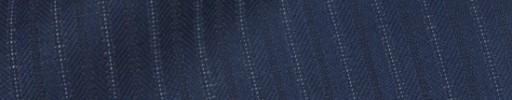 【Bsl_9w098】ダークブルー柄+8ミリ巾織り交互ストライプ