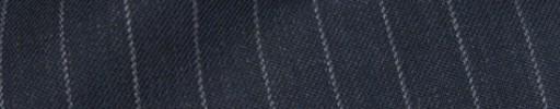 【Bsl_9w099】ダークブルーグレー+1cm巾ストライプ
