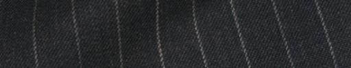 【Bsl_9w100】チャコールグレー1cm巾ストライプ