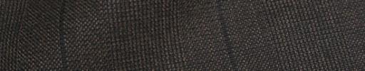 【Ha_8fc03】ブラウングレンチェック+6×5.5cm織りプレイド