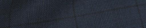 【Ha_8fc05】ネイビーグレンチェック+6×5.5cm織りプレイド