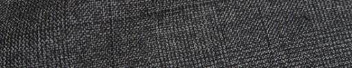 【Ha_8fc06】グレーグレンチェック+6×5.5cm織りプレイド