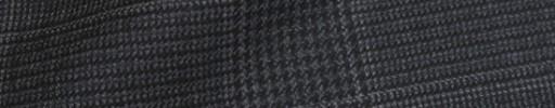 【Ha_8fc32】チャコールグレー9.5×8cmグレンプレイド