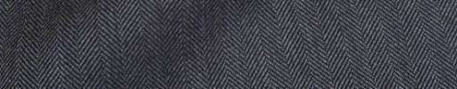 【Ha_8fc59】ミディアムグレー1cm巾ヘリンボーン