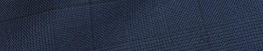 【Ha_8fc69】ネイビーグレンチェック6×5cm黒ペーン