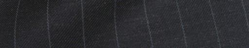 【Ha_8fc76】チャコールグレー+1cm巾ペンシルストライプ