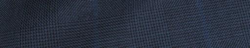 【Ha_8fc79】ダークブルーグレーグレンチェック+6.5×5.5cmブルーペーン