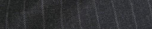 【Ha_8fc80】チャコールグレー+1.4cm巾ストライプ