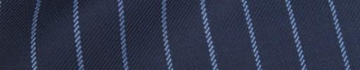 【Ha_8fc84】ネイビー+1.4cm巾ライトブルーストライプ