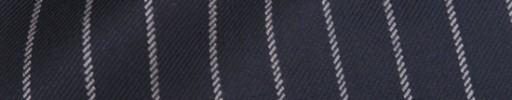 【Ha_8fc87】ネイビー+1.4cm巾白ストライプ