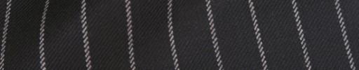 【Ha_8fc88】ブラック+1.4cm巾白ストライプ