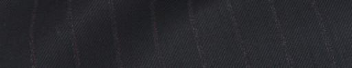 【Sya_9w06】ブラック+1.2cm巾ブラウン織りストライプ