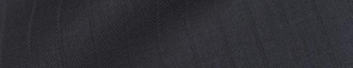 【Sya_9w12】ダークブルーグレー+1cm巾織りストライプ