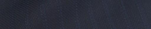 【Sya_9w17】ダークネイビー柄+1cm巾ブルー織りストライプ
