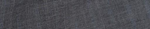 【Sya_9w36】ミディアムグレー+1.2cm巾ライトブルードット・織り交互ストライプ