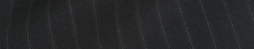 【Sya_9w43】ブラック+9ミリ巾織りストライプ