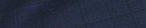 【Ha_prm01】ネイビー8×7cmグレンチェック+ブルーペーン