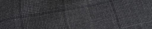 【Ha_prm02】チャコールグレー8×7cmグレンチェック+グレーペーン