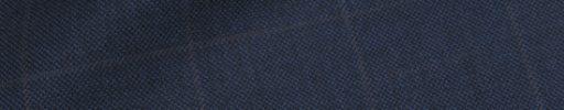 【Ha_prm04】ネイビー+4.5×3.5cmブラウンペーン