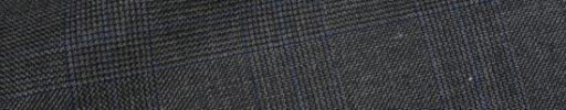 【Ha_prm26】ミディアムグレー4.5×4cmグレンチェック+ブルーペーン