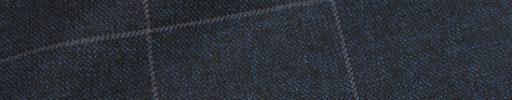 【Ha_prm30】ダークブルーグレー杢+6×4.5cmグレーペーン