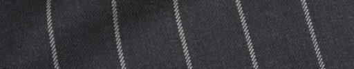 【Ha_prm68】チャコールグレー+2.2cm巾ボールドストライプ