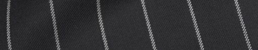 【Ha_prm69】ブラック+2.2cm巾ボールドストライプ
