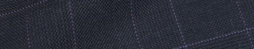 【Hs_ch9w01】ダークブルーグレーグレンチェック+5×4cmパープルチェック