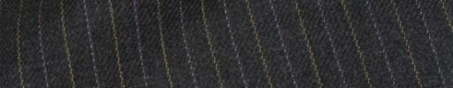 【Hs_ch9w08】チャコールグレー+1cm巾オレンジ・パープル交互ストライプ