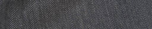 【Hs_ch9w37】ミディアムグレー1.3cm巾ヘリンボーン