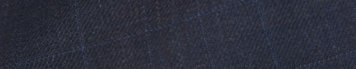 【Is_9w215】ブルーグレー織りチェック+5.5×4.5cmブラックペーン