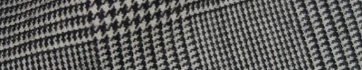 【Is_9w299】白黒7×5cmグレンチェック